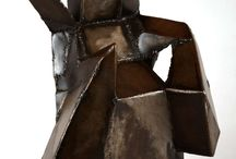figure steel sculpture