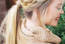 Hair ponytail