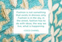 Quotes and Fabrics! / All of our quotes an text-posts from Instagram!  @designinglinensnyc