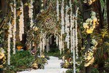 Wedding Walkways and Entrance