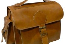 Leather backpacks-messengers-satchels