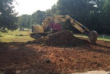 McCullough - Project / Current swimming pool under construction.