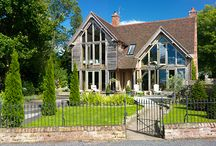 """The Woodhouse / If you are considering building your own Oak framed home and want to experience first hand what living in one could be like, why not book a stay in our unique """"try before you buy"""" Woodhouse Show Home. Take a look at how the Show Home has developed since its creation in 2007."""