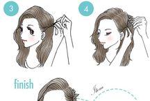 peinados k