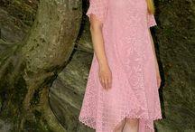 vestido croche adulto