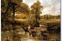 the hay wain john constable