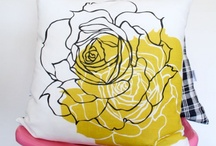 Fleurs jaunes et noires