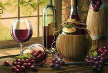 Для декупажа_вино