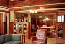 House Interiors (early 1900s) / I'm a research junky. This board includes images from early 1900s catalogs, advertisements and other relevant research sources for an early century Craftsman / Bungalow / Arts & Crafts style home. / by Craftsman Junky