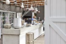 wnętrza sklepu, restauracji, kawiarni