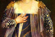 Venetian gowns