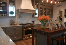 kitchen / Kitchens... cabinets, counter tops, flooring and appliances / by Maureen McCabe