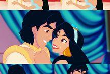 Disney Love - Alladin / Disney*Genie*Jasmine*Alladdin