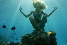 joga pod wodą