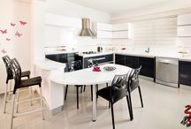 Kitchen / Kitchen, cool, white-grey, modern