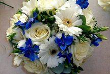 Bridal Bouquet / Santorini Wedding