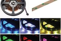 TIRAS DE LEDs RGB, BLANCAS / TIRAS DE LEDs PARA DECORACION EN HOGAR, AUTOMOTRIZ, INDUSTRIA, OFICINA, PROYECTOS ESCOLARES..ETC. ETC.