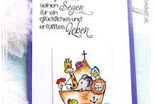 Basteln zur Taufe / Die Taufe ist ein Fest zu der man besonders kreativ basteln kann: Einladungskarten, Geschenk zur Taufe, Tischdekoration, Gastgeschenke und vieles mehr. Ideen dazu gibt es hier auf diesem Board