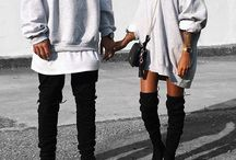 urban style for couple!