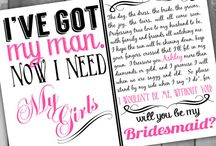 bridesmaid invitation ideas