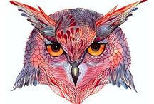 Owls / by Claudia Howe