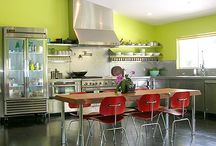 cooking & eating spaces... / by Holly Steimle