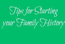 Genealogy - Beginners