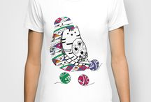 T-Shirt by Tahereh Abdoli / T-Shirts from my work that you can order online... / by Tahereh Abdoli