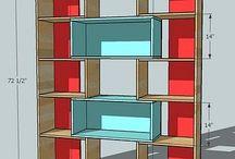 Room dividers / Room dividers parabanes half walls