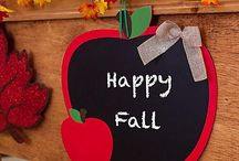 Fall Party Ideas! / Feel the chill in the air? The trees are changing color and Fall is officially here! Get ready for the autumnal season with great decorating, baking, and classroom ideas!