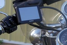 GPS on a Motorcycle / Motorcycle mounts for Handlebar, Brake/Clutch, Mirror, Windshield & more
