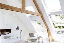ZOLDERKAMER Ideeën / Leuke ideeën voor op een zolderkamer