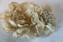 Fabric Flowers and Ribbons