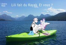 Lili en vacances avec vous / Tout au long de l'été suivez les aventures de Lili. À la plage, au yoga, à la montagne, chez elle... De véritables petites cartes postales pour vous évader le temps d'un instant.