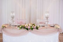 Pink / All functions held at Monte Vista Venue with pink incorporated into the colour scheme