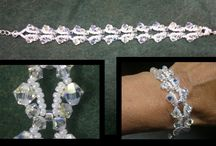 Crystals / Bead work with Swarovski crystals