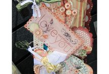 Chipboard Crafts / Create scrapbook pages, cards, embellishments, albums and decorations with chipboard crafts. / by Craft-e-Corner Oshkosh, WI