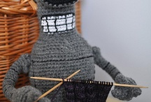 knit, crocheted, etc: in yarn, thread, and/or .... / by Alessandrina