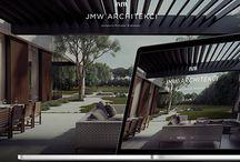 Web design - JMW Architects
