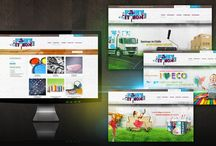 Web Design / Some examples of FRENZY.PROJECTS work on web-design.