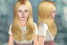 Coiffure Enfant (Sims 3)