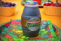 Ninja Turtle Birthday Party / by Loreal Davidson