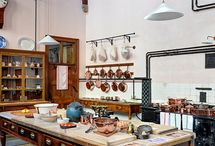 Project: 'Harriets', Zurich / An warm industrial styled bakery and coffee shop in Zurich with English Country House and shabby chic elements to soften.
