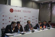 AUSTRAL CONSULTING, EN SEMINARIO DE EUDE / Austral Consulting, ha participado, a través de su Socio Director en el Seminario Oportunidades y Emprendimiento en Perú, organizado por EUDE y la Cámara de Comercio de Perú.
