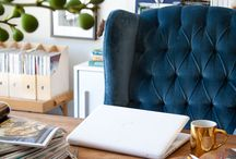 OFFICE & CRAFT ROOM / by Rachel Linn // Saddle and Suede