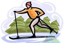 Biegówkowe obrazki / Cross-country skiing images