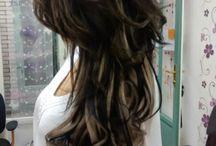 Hairstyles / Általam készített frizurák