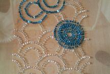 ricami perline e paiette