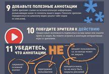 YouTube: Инфографика про Ютуб