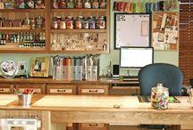 Craft rooms!!! / by Jamie-Lee Higginson